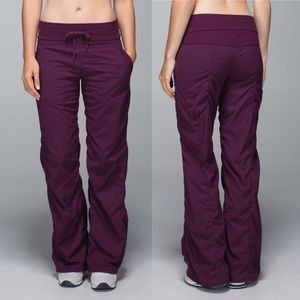 Lululemon Studio Pant II *Unlined (Regular) Plum